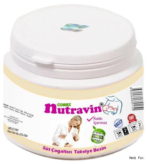 Nutravin Anne Sütü Arttırıcı Ek Besin (300 gr)